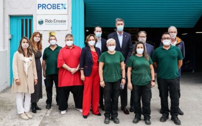 The Mayor of Badalona Visits Probex